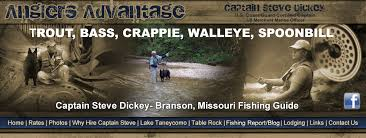 Table Rock Lake Fishing Guides by Branson Fishing Guide Trips Lake Taneycomo Anglers Advantage Guide