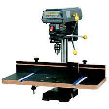 central machinery table saw fence drill press table with fence
