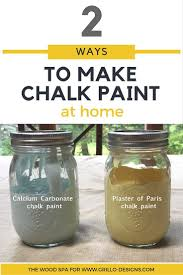 best ideas about furniture painting techniques pinterest patricia from the wood spa shares ways make homemade chalk paint first