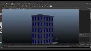 create a building autodesk maya modeling tutorial create a building with python youtube