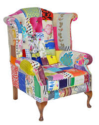 made to order patchwork chairs by kelly swallow homify