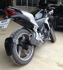 best honda cbr the best mudguard in my opinion page 2 honda cbr250r forum