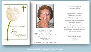 funeral card template funeral cards funeral thank you cards white tulip cross memorial