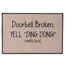 Funny Doormat Sayings Best 25 Cute Door Mats Ideas On Pinterest Summer Things Summer
