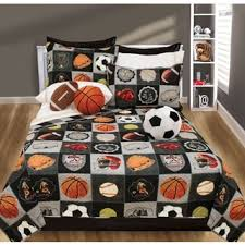 Soccer Comforter Soccer Fever 7 Piece Bed In A Bag With Sheet Set Free Shipping