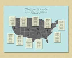 us map wedding seating chart map wedding table plan wedding
