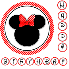 minnie mouse red bow clipart 56