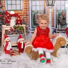 christmas gift new baby girls kids red paillette tutu dresses xmas