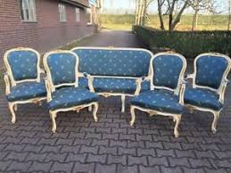 beautiful old complete french livingroom set sofa settee couch