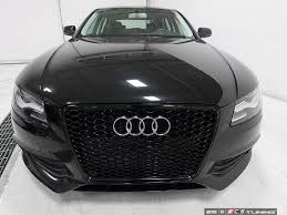 audi a4 b8 grill upgrade ecs tuning black b8 s4 grille for the pre facelift b8 a4 s4