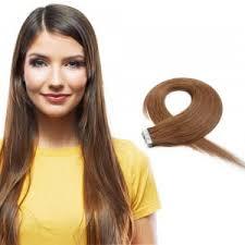 Light Brown Hair Extensions 1 Tape In Hair Extensions Best Remy Hair Extensions Tape In