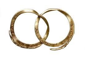 gimmel ring co edwardian wedding band 18kt gold gimmel ring
