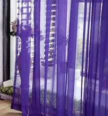 Sheer Blue Curtains Purple Sheer Curtains Interior Design