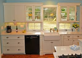 Double Sided Kitchen Cabinets by Kitchen Cabinet Window Treatment Kitchen Traditional With Kitchen