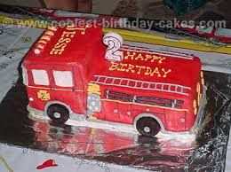 firetruck cakes coolest kids cakes web s largest birthday cake photo