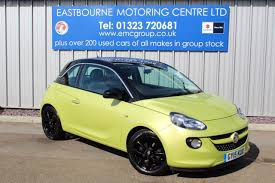 vauxhall adam new vauxhall adam in eastbourne east sussex eastbourne motoring