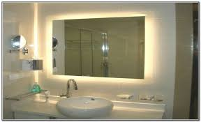 Led Backlit Bathroom Mirror Back Lit Bathroom Mirror My Web Value