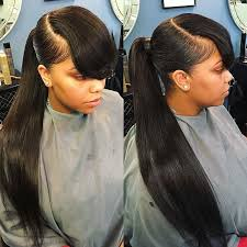 best 25 weave ponytail hairstyles ideas on weave
