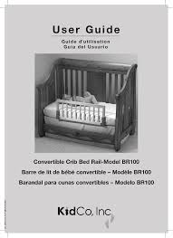 Kidco Convertible Crib Bed Rail Kidco Bed Rail White Bed