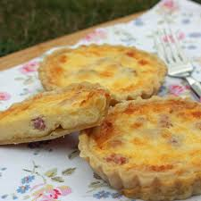 Quiche Blind Bake Or Not Individual Quiche Lorraine Baking Mad