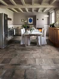 kitchen floor elegant modern all white kitchen with terra cotta