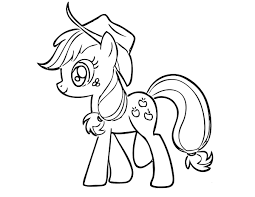 pony coloring pages kids coloring pictures download