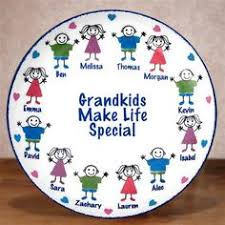 personalized family platters large grandkids personalized keepsake platters the personalized