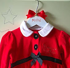 personalised u0027first christmas u0027 hanger early years boutique