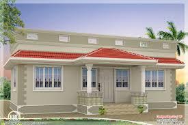 sqfeet kerala style single floor 3 bedroom home indian house plans