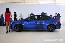 subaru wrx hatch 2018 new look subaru wrx u0026 wrx sti launched from rm238k video