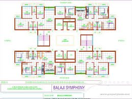 Gurdwara Floor Plan by 1 Bedroom Apartment Flat For Sale In Space India Balaji Symphony