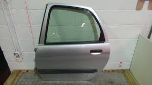 2001 citroen xsara picasso left passenger silver rear door glass