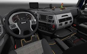 renault truck interior daf xf euro 6 interior mod euro truck simulator 2 mods