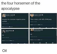 Stephen A Smith Memes - the four horsemen of the apocalypse stephen a smith o donald j