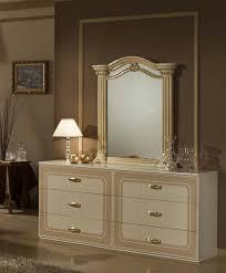 Acacia Bedroom Furniture by Opera Italian Classic Beige Gold Bedroom Set