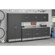 amazon com altra furniture systembuild boss 2 door base garage