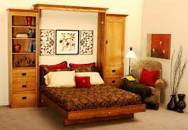 Space Saving Furniture For Small Bedrooms by Bedroom Wonderful Brown Wood Modern Design Storage Space For