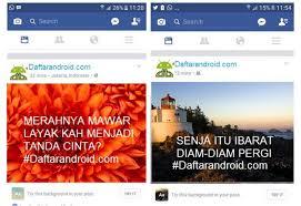 membuat facebook yg baru cara membuat status facebook pakai background gambar keren