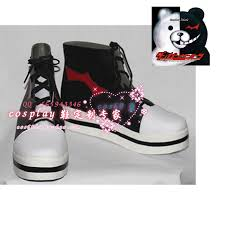 halloween sneakers popular danganronpa monokuma shoes buy cheap danganronpa monokuma