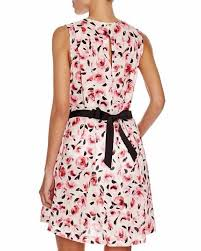kate spade bay of roses pink floral sleeveless swimsuit cover up