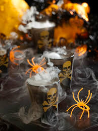 smoking skulls halloween cocktail recipe hgtv
