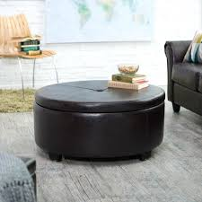 Square Brown Leather Ottoman Extraordinary Large Square Leather Ottoman Medium Size Of Coffee