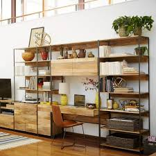 bookshelves with storage industrial modular 33
