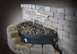 Waterfall Fountains For Backyard by Diy Water Feature Backyard Waterfalls Fountain Fountain Design Ideas