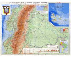 South America Physical Map by Maps Of Ecuador Detailed Map Of Ecuador In English Tourist Map