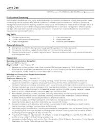 resume samples for office manager professional business administration consultant templates to resume templates business administration consultant