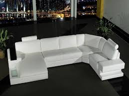 furnitures white leather sofa best of orion modern white leather