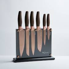 titanium kitchen knives titanium coated knife set 7 new cutlery touch