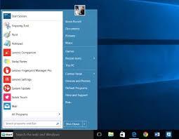 lenovo laptop themes for windows 7 windows 10 start menu how to make it look like windows 7