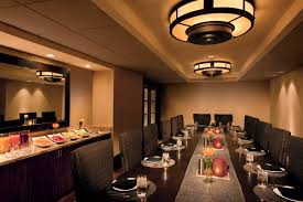 the carillon has several private dining rooms for intimate parties